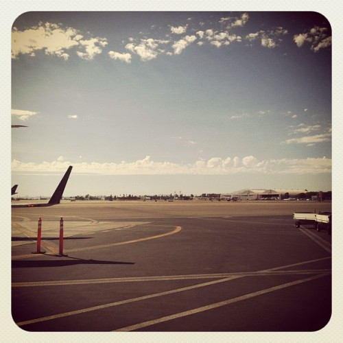 Sky Ruler (Taken with Instagram at Bob Hope Airport (BUR))