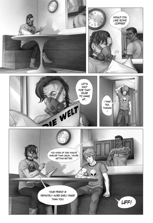 « PREVIOUS | PAGE 7 | NEXT » Lines, Flats & Shading: ElephantWendigo Story: ElephantWendigo & TheSoul Beta: deppfan85 YOU CAN READ THE COMIC ON SMACKJEEVES AS WELL. UPDATES EVERY FRIDAY!