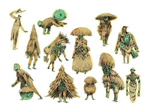 brightsplashes:  Saplings