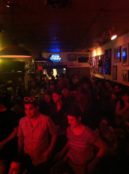 This looks like an athletic audience.  - Clare O' Kane @ Geo Kayes [Paraphrase]