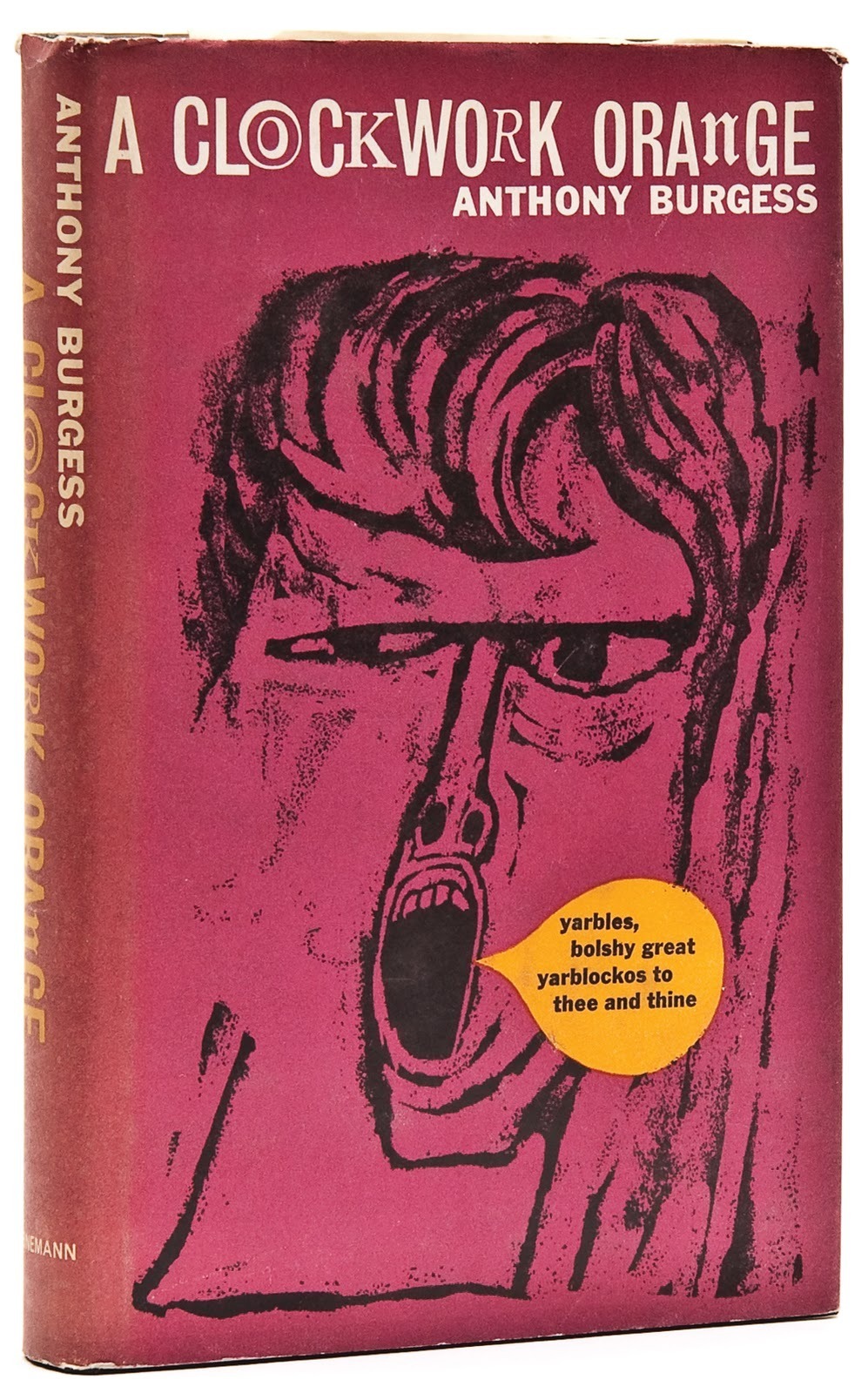 Anthony Burgess first book