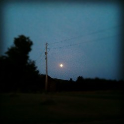 #bluemoon (Taken with Instagram)