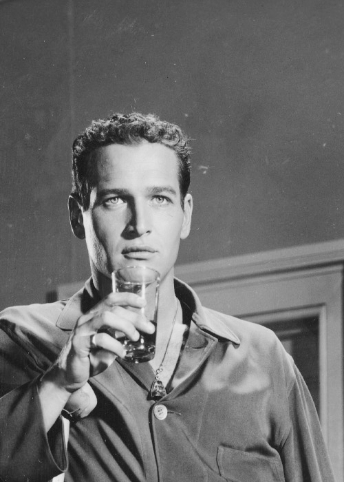 theidleclass:   Paul Newman in 'Cat on a Hot Tin Roof', 1958.