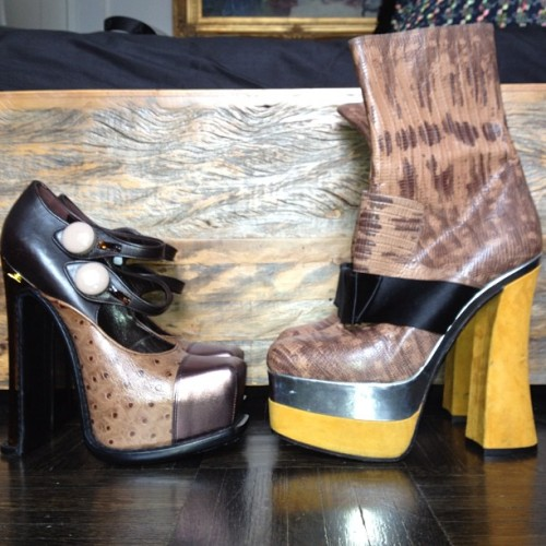 loveyourhooves:  some of the season's best shoes