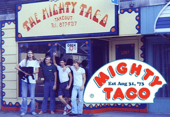 buffaloblog:  Mighty Taco is 39 today Buffalo. Eat a Buffito to celebrate!  The only acceptable taco north of Texas. Happy Birthday, Mighty!