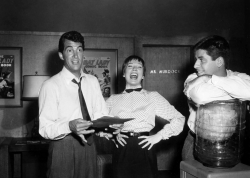 xluvmary:  Dean, Shirley MacLaine and Jerry on the set of Artists & Models, 1955 It's Jerry Lewis' Handsome Profile Appreciation Day here on the site! LOL