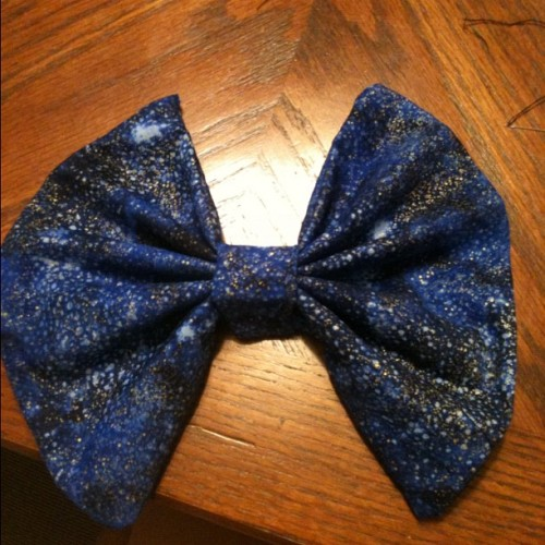 First bow made, selling at $6. c: It's big.
