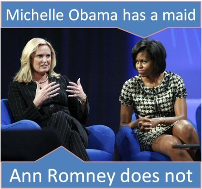 "thegreekweegee:  guns-and-humor:  For those that would criticize Ann Romney, remember, Ann and Mitt had to work to get what they have, she raised five boys, he worked long hours. What they have: they built that.  This. So much this.  This is a lie. Mitt Romney is the spoiled rich son of a rich man. His father was Governor of Michigan. Romney spent the very height of the Vietnam War in France — yes, he ran to France — and killed someone in a car accident. The North Vietnamese were safe as Romney lived it up in France, but he killed someone in a car accident. Romney was already married while he was still in school, and he and his wife were ""Struggling"" SO MUCH that they sometimes had to sell a few shares of stocks ""Just to get by."" Mitt Romney is rich. He was born rich, he's rich now and he's going to die rich. He and his wife are so far removed from how the ""Bottom"" 80% of America lives that they can't even fake it. They've tried. They've both tried several times. They've always made fools of themselves."