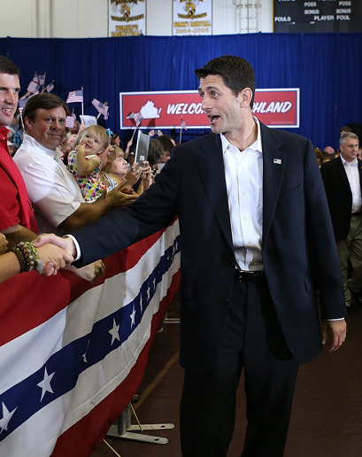 gqfashion:  gq:  The Worst-Dressed Man of the Month: Paul Ryan  Be better, Paul.