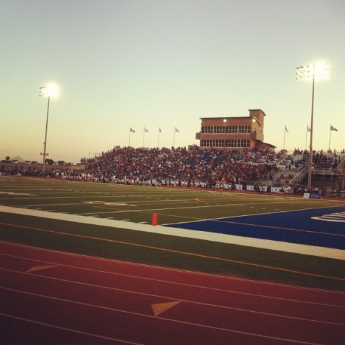 Friday night lights. (Taken with Instagram)