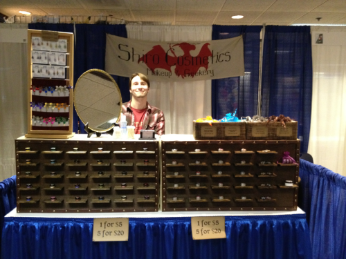 We're all set to vend at Kumoricon starting tomorrow, come see us in the Exhibitor's Hall in the Red Lion Ballroom! :D