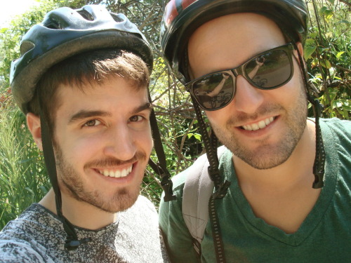 David and I while on our biking trip down the Niagara Recreation Trail.  Had such a fun time on our trip down to Niagara Falls for my man's 25th Birthday. <3