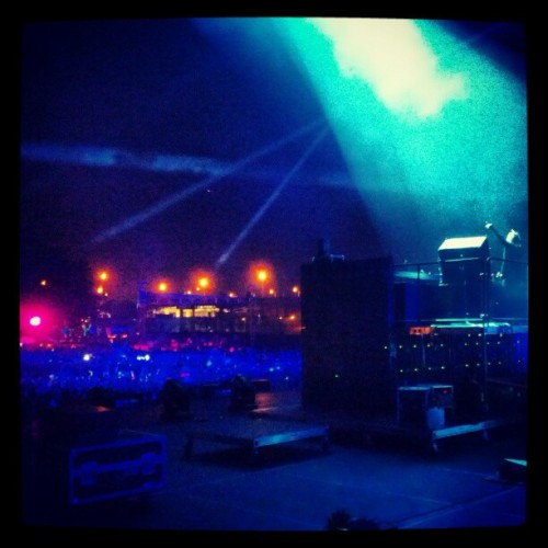 .@davidguetta KILLING it at #EZoo!!!  (Taken with Instagram)