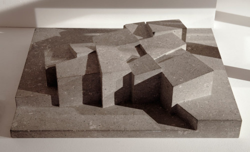 Model of Hepworth Wakefield by David Chipperfield.