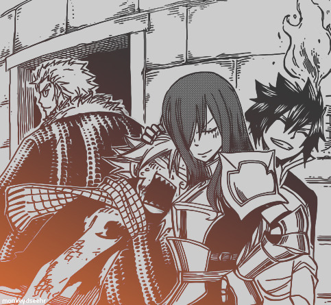 Fairy Tail Guild resumed in one image.