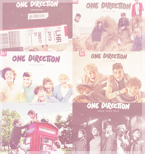 One Direction (Album Covers)