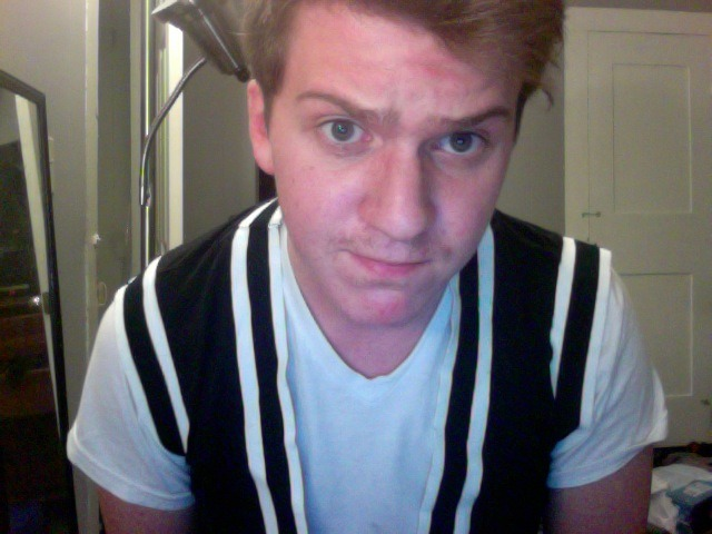 I dug through all my clothes and found this vest.  I think I hate it