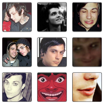 stares: ieroking (5%) iminlovewithgerardway (5%) saintmikey (3%) twowaysonecup (3%) mcrshavedmywife (3%) ahomeboyssexlife (3%) my-chemical-liferuiners (3%) 20dollahnosebleed (3%) cock-zero (2%)