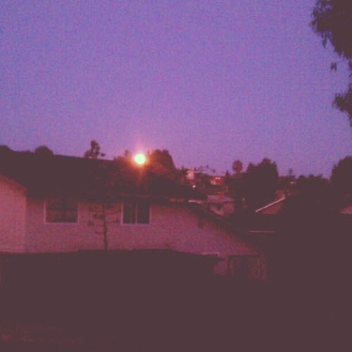 beautiful blue moon (Taken with Instagram)