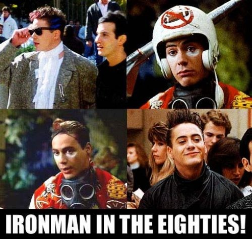 Iron Man in the 80s…