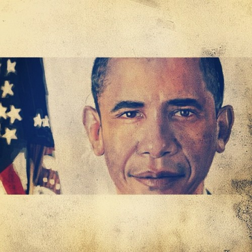 #Obama #still  (Taken with Instagram)