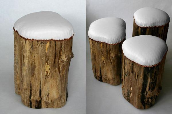 Stump Stools por Cumulus Project.