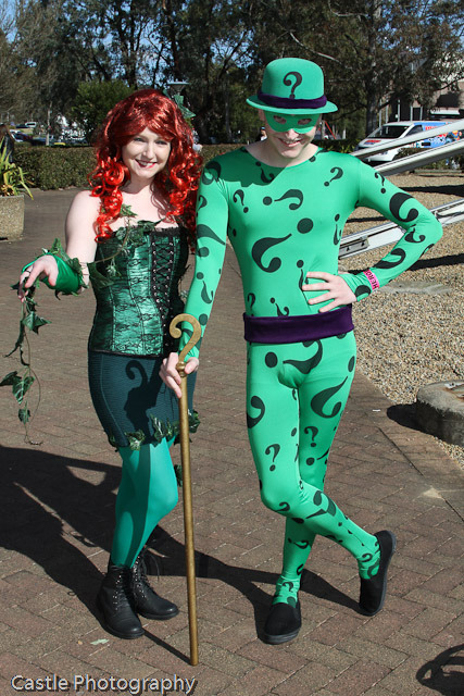 Me and the Delicious Hayley Ford as The Riddler and Poison Ivy. Tonnes more photos where this came from :D