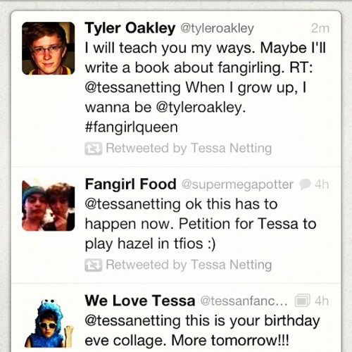 IT'S GONNA BE A GOOD BIRTHDAY. @tyleroakley #DEAD  (Taken with Instagram)