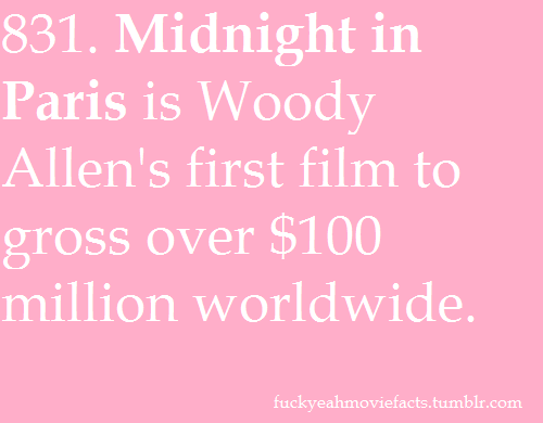 Find more facts on Midnight in Paris here!
