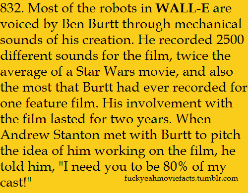 Find more facts on WALL-E here!