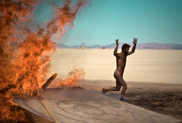 Run Away from the Burning Man [More Photos]