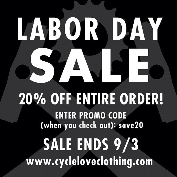 Don't sleep on this! #laborday #sale #bicycle #bicycles #fixedgear #bmx #mtb #cycling #mountainbike #graphictee #graphicdesign #shirt #shop #igerscycling #cyclelove #bikeporn #bikelove #fitness #swimbikerun #runbikeswim #triathalon #triathalete #athelete  (Taken with Instagram)