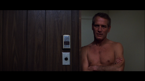 Paul Newman in The Drowning Pool (1974), sequel to Harper (1966).