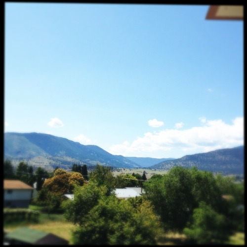 The view at Penticton Loftus Lens, Sugar Film, No Flash, Taken with Hipstamatic
