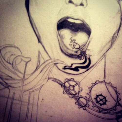 She speaks.  Work in progress. :)  (Taken with Instagram)