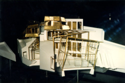 Model of Steinhaus, Vienna [arch. Günther Domenig] The real thing took a little longer to build.