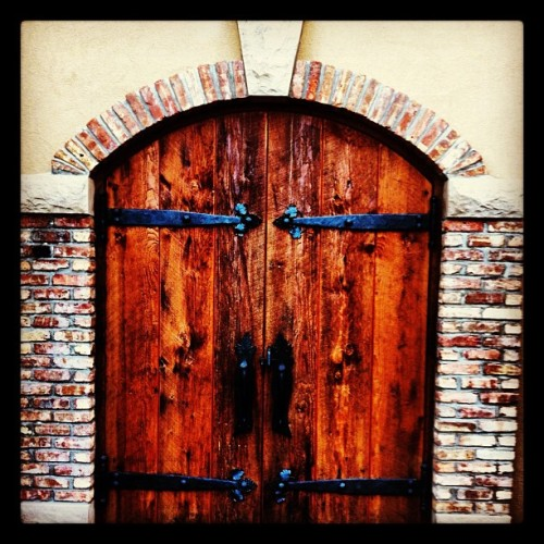 Nice Door (Taken with Instagram)
