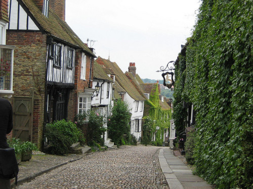 | ♕ |  Mermaid Street in Rye, England  | by © JarvisEye | via ysvoice