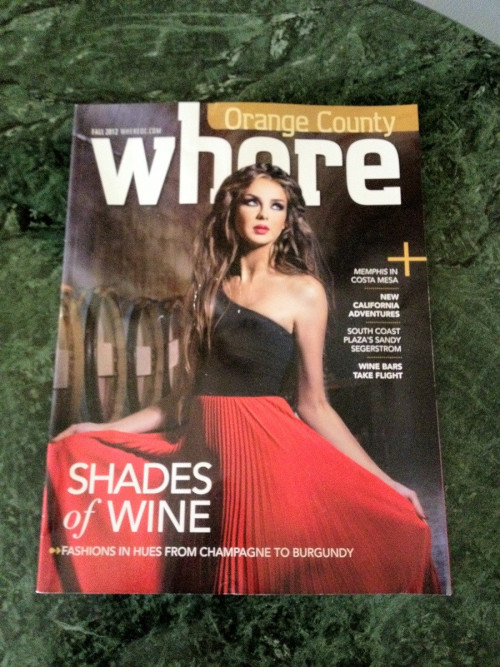 Magazine Cover Layout Gone Wrong When you design a layout, please have someone check over it. This is not a flattering mishap.  In case you can't figure out the name, it's supposed to be Where Magazine.