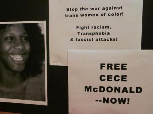 Leslie Feinberg re-charged for solidarity action for CeCe McDonald See you all at court on Sept. 13th @8:30am to support Leslie Feinberg as hir continues to bring attention to CeCe and her case. FREE CECE! https://www.facebook.com/notes/leslie-feinberg/leslie-feinberg-re-charged-for-solidarity-action-for-cece-mcdonald/10151141939389784