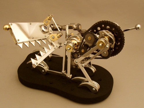 AWESOME DOG ROBOT ART lorenzens-soil:  Robot Art by Lawrence Northey http://robotart.homestead.com/LawrenceNorthey.html