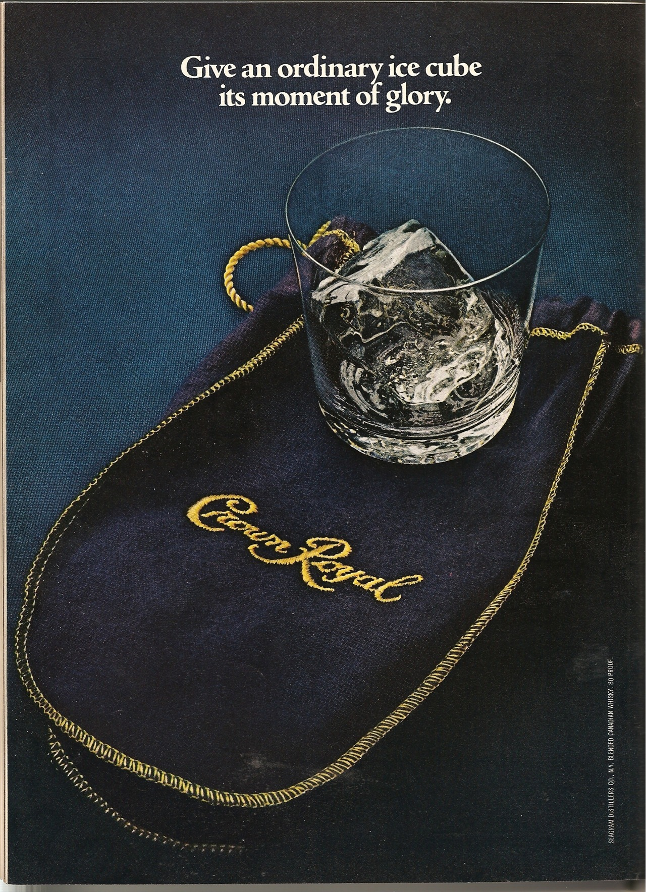 vintagelounge:  Crown Royal. Ad from Playboy, March 1981.