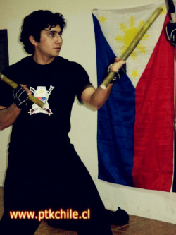 Me in training of Filipino Martial Arts ^_^