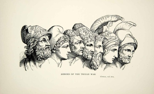 Heroes of the Trojan War (1899)