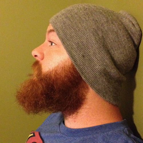 jakethebeardedgeek:  Happy Septembeard! Kicking off month 6 of the beard… new personal high score!