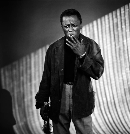 Miles Davis (photo by William Claxton)