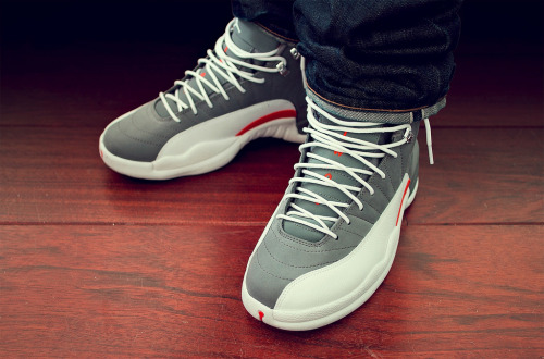 phuckindope:  Jordan cool grey 12s