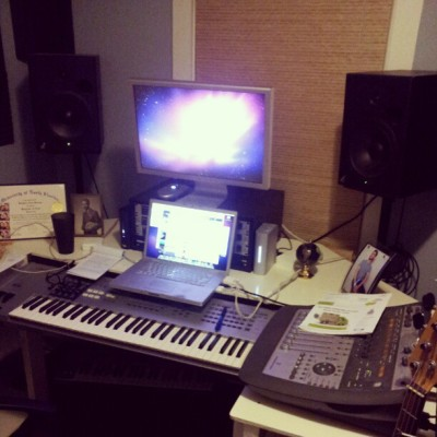 New studio set up (Taken with Instagram)