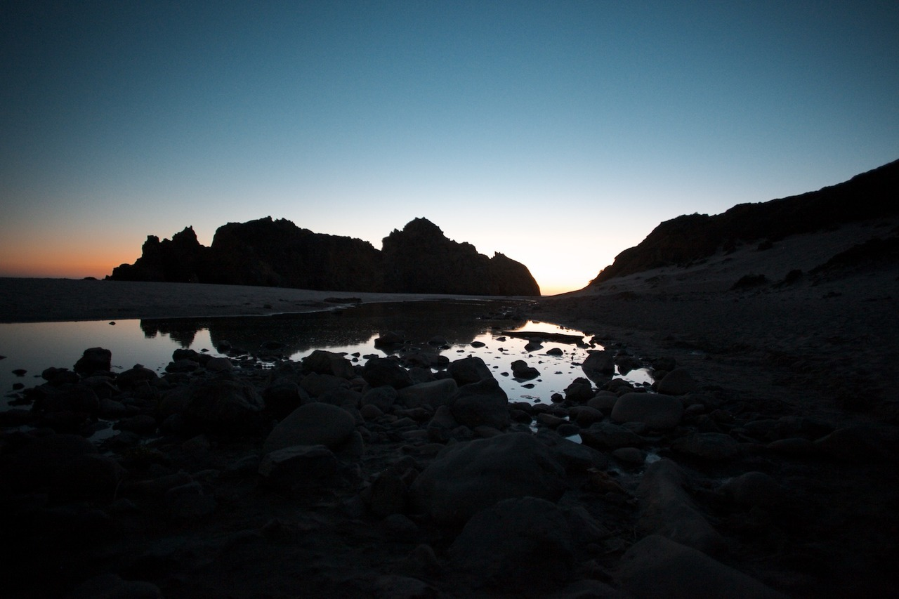 Pfeiffer Beach. Big Sur, California. August 2012