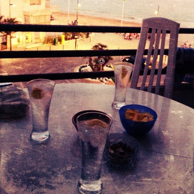 Our #drink of #choice = #gin and #tonic at #sunset  (Taken with Instagram at Spain, Calpe)